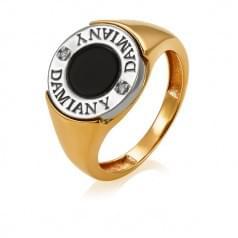 Печатка золотая - мужское кольцо с надписью
