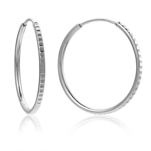 Серебряные серьги СБ014.21с