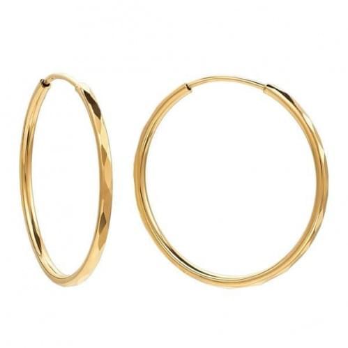 Золотые серьги СБ014.22и