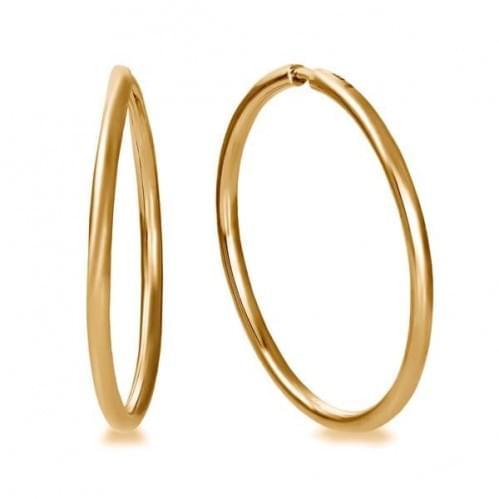 Золотые серьги СБ014.7и