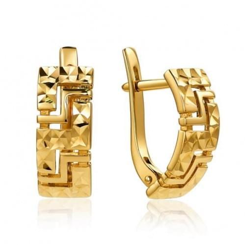 Золотые серьги СБ028(а)и