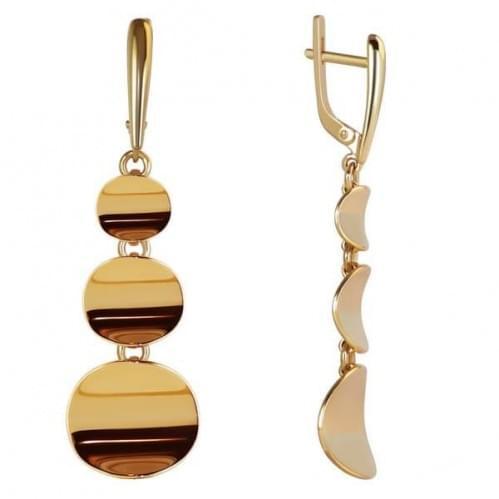 Золоті сережки СБ034(2)и