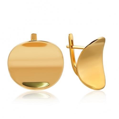 Золотые серьги СБ047и