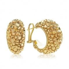 Серьги из лимонного золота (Флорентино - Collection Florentino)
