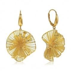 Сережки лимонное золото (Флорентино - Collection Florentino)
