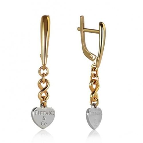Золоті сережки СБ142(3)и