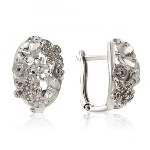 Срібні сережки СБ160с