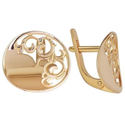 Золоті сережки СБ313и