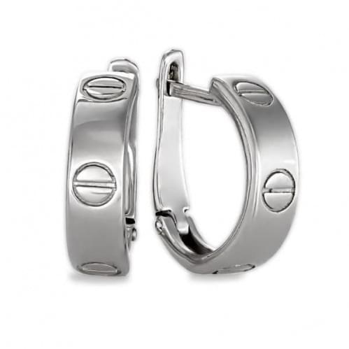Серебряные серьги СБ314с