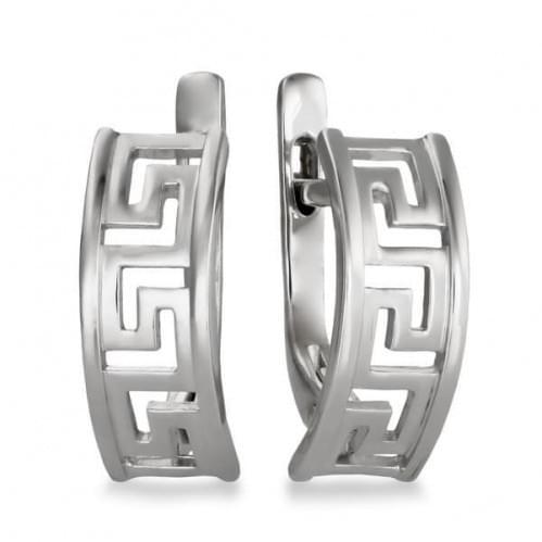 Серебряные серьги СБ318с