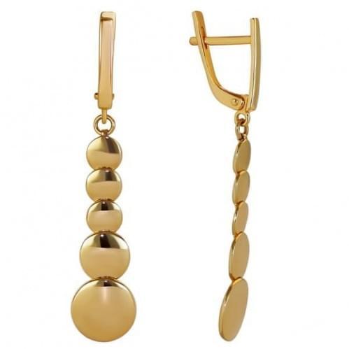 Золоті сережки СБ328и