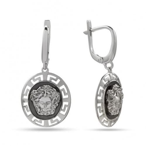 Серебряные серьги СБ333с
