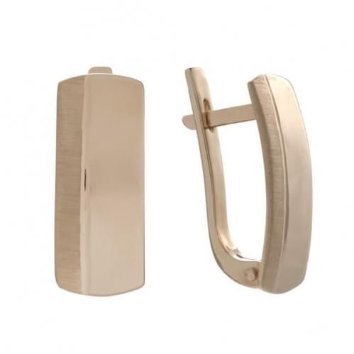 Золоті сережки СБ438(мат)и