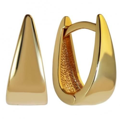 Золотые серьги СБ439и