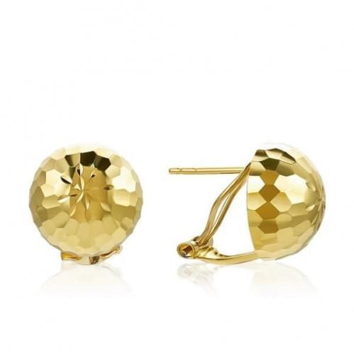 Сережки з лимонного золота (Флорентіно - Collection Florentino) СБ464Лк