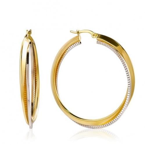 Золотые серьги (Флорентино - Collection Florentino) СБ467к