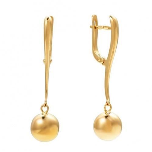 Золоті сережки СБ473и