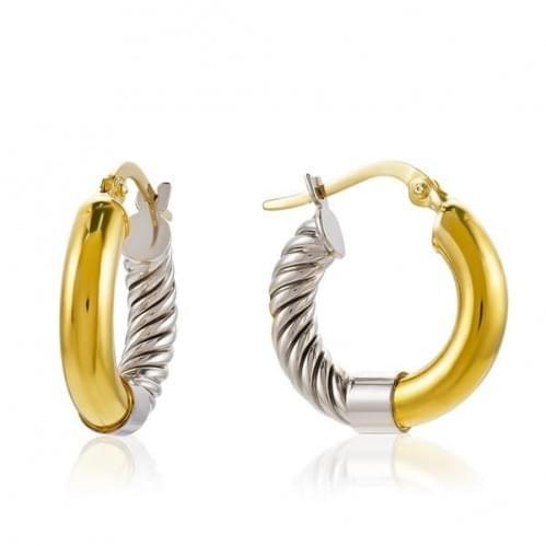 Серьги Кольца золотые (Флорентино - Collection Florentino)