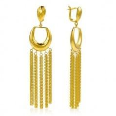 Сережки з лимонного золота (Флорентіно - Collection Florentino)