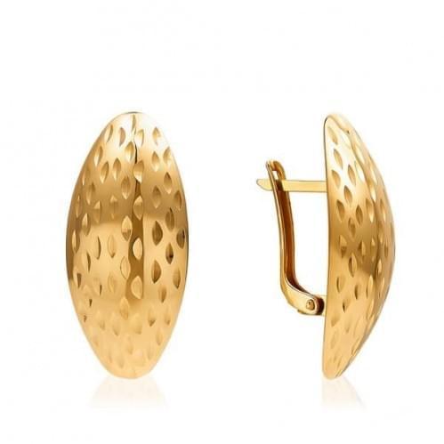 Золотые серьги СБ672(а)и