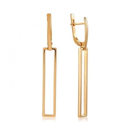 Золотые серьги СБ809и