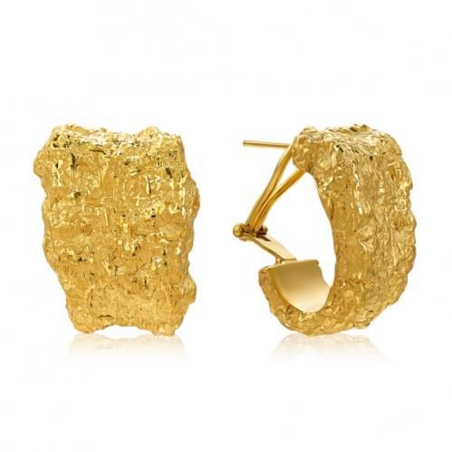 Серьги из лимонного золота ( Флорентино - Collection Florentino ) СБ914Лк