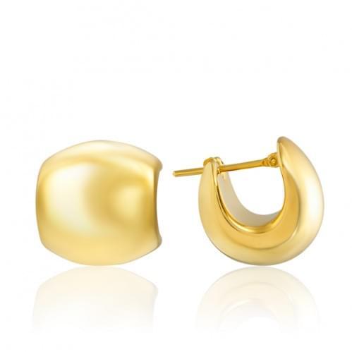 Сережки з лимонного золота (Флорентіно - Collection Florentino) СБ917Лк