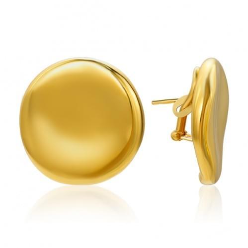 Серьги из лимонного золота ( Флорентино - Collection Florentino ) СБ918Лк