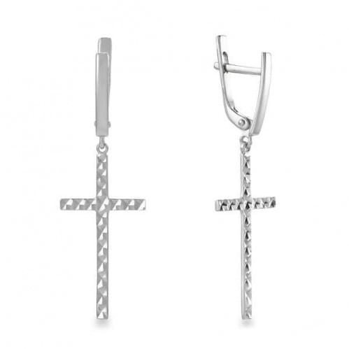 Срібні сережки СБ932(а)с