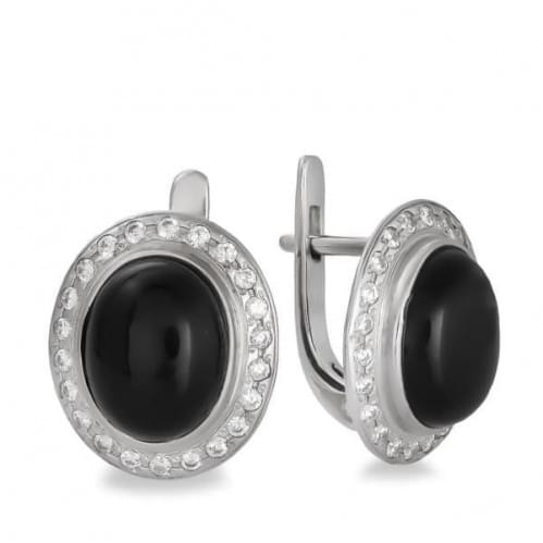 Срібні сережки СВ1060с