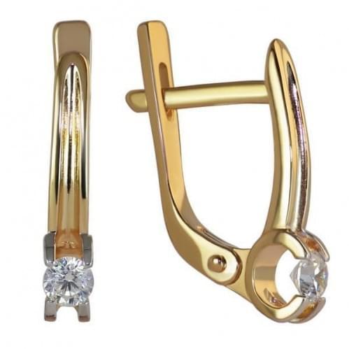 Золоті сережки СВ1132и