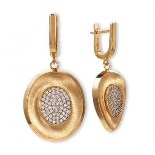 Золотые серьги (Астарта - Collection Astarta) СВ1317к