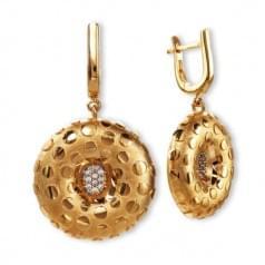 Золотые серьги (Астарта - Collection Astarta)