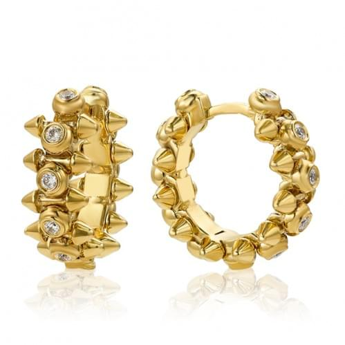 Сережки з лимонного золота (Флорентіно - Collection Florentino) СВ916Лк