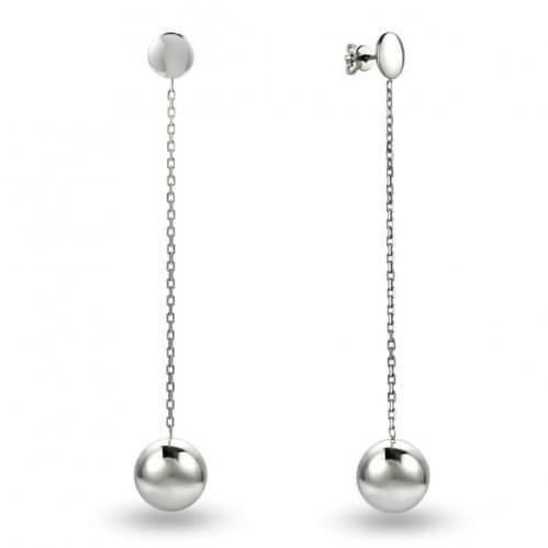 Пуссеты серебряные - сережки гвоздики