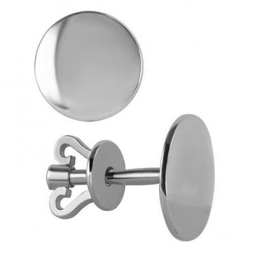 Серебряные пусеты СП285с