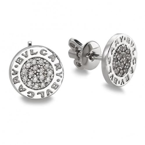 Серебряные пусеты с фианитом СП295с