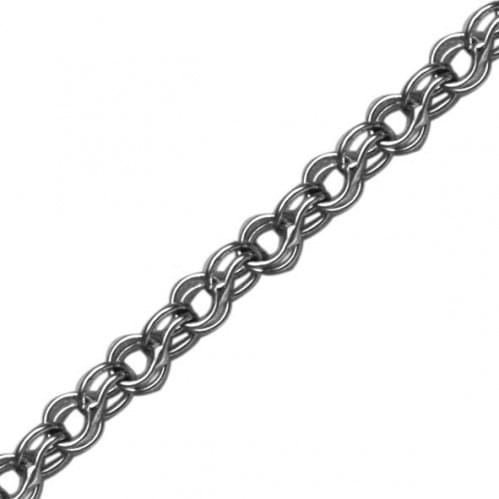Серебряная цепочка ЦП075с