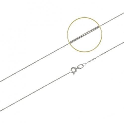 Цепочка из белого золота ЦП115Би